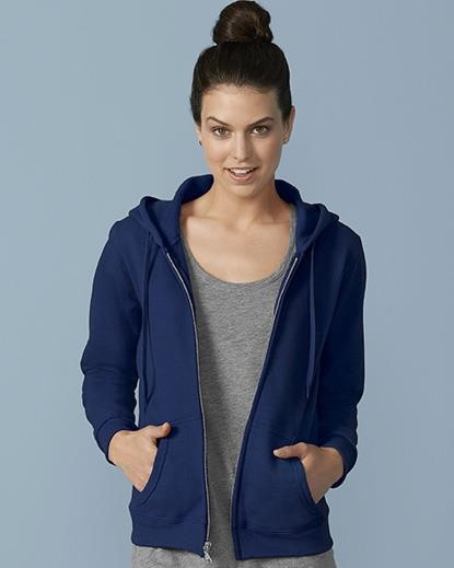 Heavy Blend Ladies' Full Zip Hooded Sweatshirt