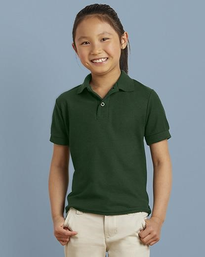 DryBlend Kids Double Pique Polo