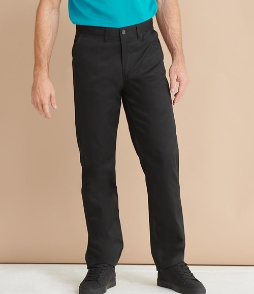 65/35 Flat Fronted Chino Trousers