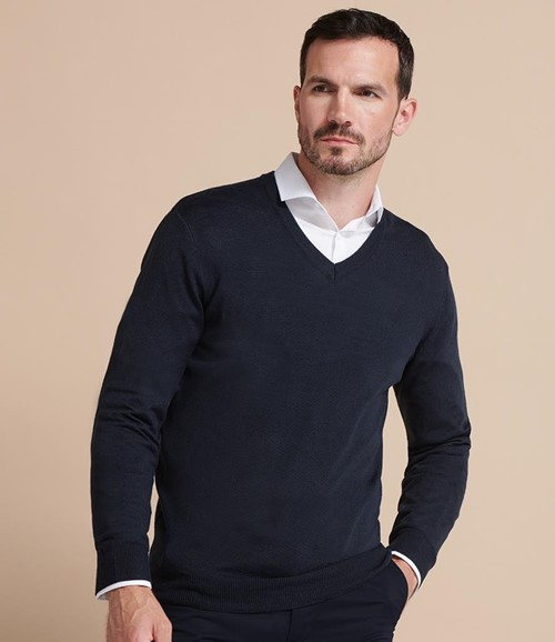 Acrylic V Neck Sweater
