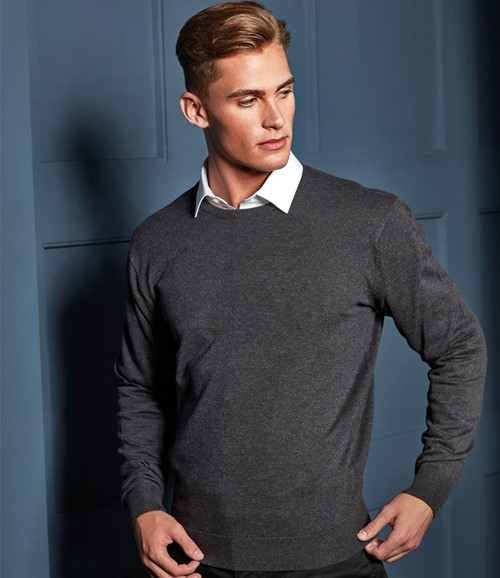 Cotton Rich Crew Neck Sweater